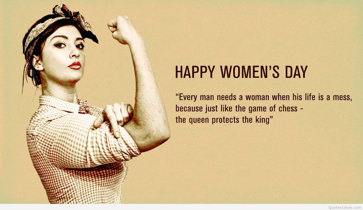 Womens Quotes 30 Happy Women's Day  Quotes And Sayings  Funnylovequotessite